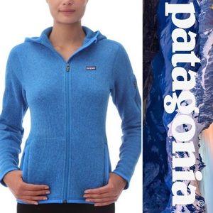 Patagonia Full Zip Blue Better Sweater Hoodie